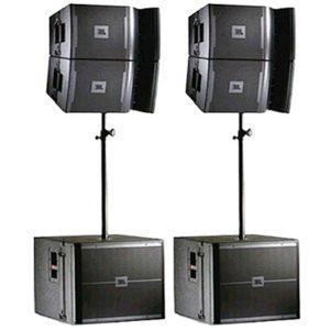 Аренда комплекта звука JBL VRX 932Lap, VRX 918SP мощностью 6 квт