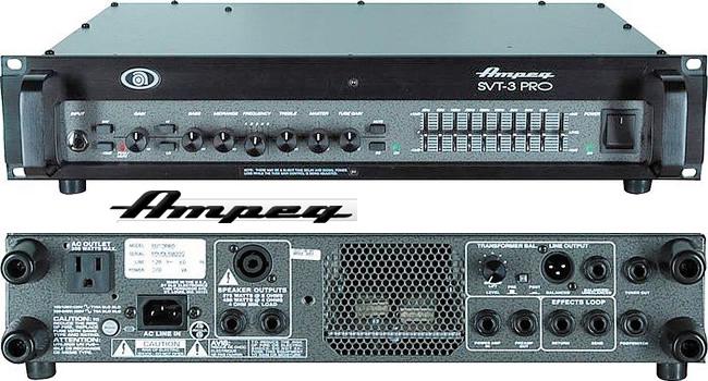 AMPEG SVT 3PRO: усилитель для бас-гитары в аренду