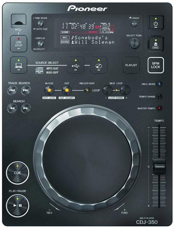 Предлагаем в аренду, прокат DJ CD проигрыватель Pioneer CDJ - 350 в Москве