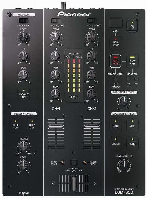 Предлагаем в аренду, прокат DJ микшер Pioneer DJM - 350 в Москве