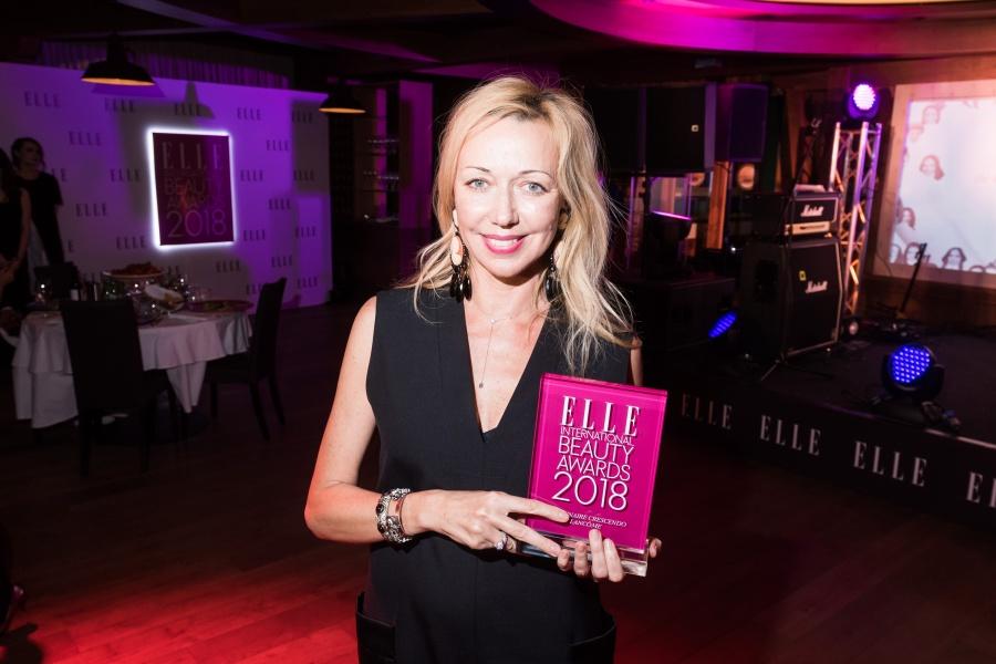 церемония вручения премии ELLE International Beauty Awards