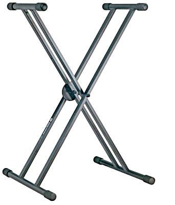 K&M Стойка для клавишных инструментов X-stand, с двойной рамой в аренду
