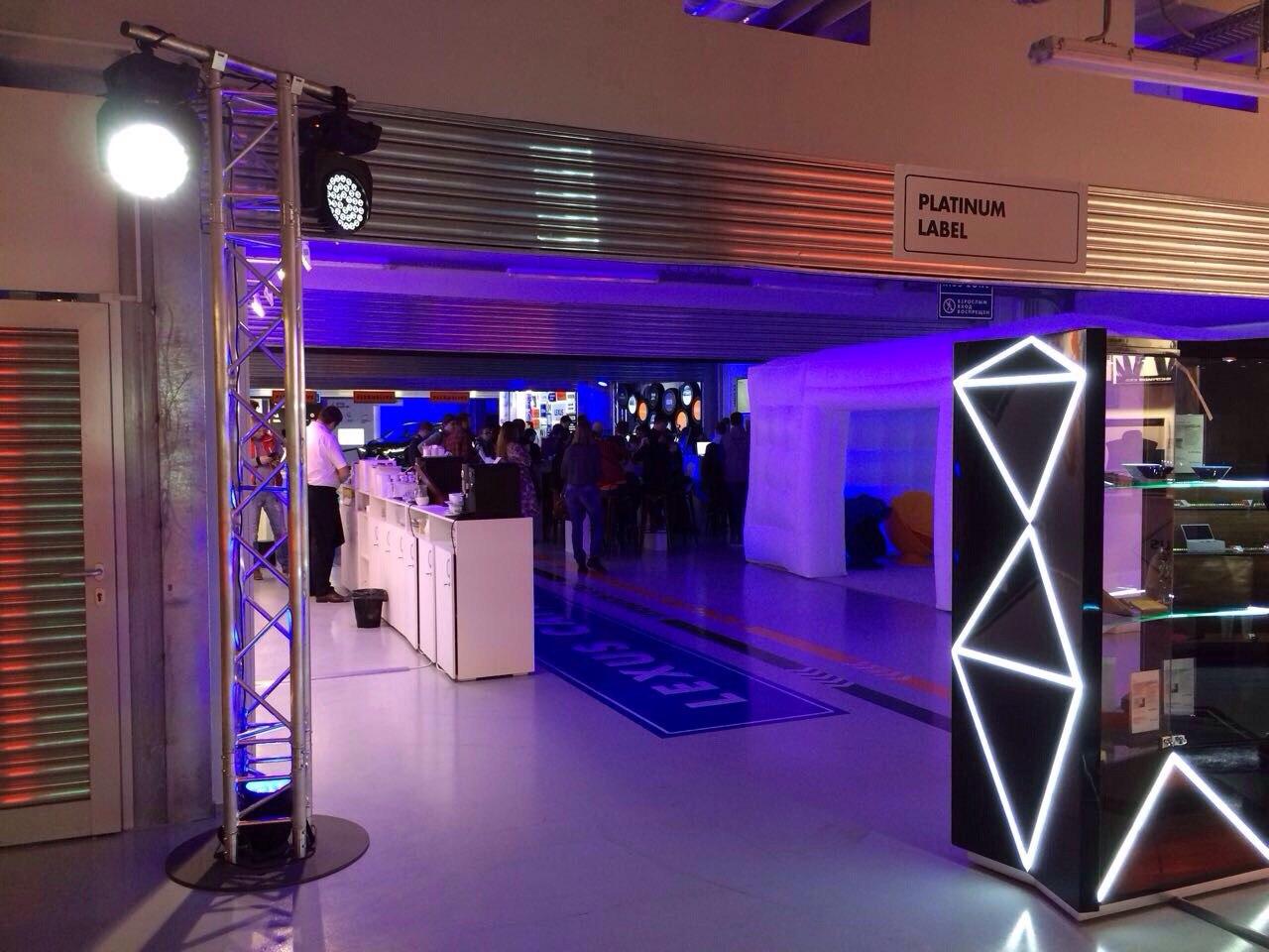 Аренда оборудования для LEXUS Live Sochi