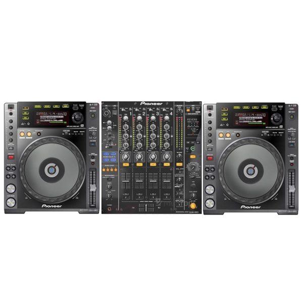 Аренда комплекта PIONEER DJM-850 и 2 CDJ-850