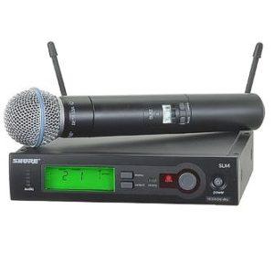 Аренда, радио-микрофона SHURE SLX24/BETA5