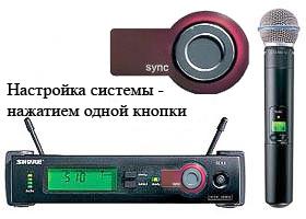 Предлагаем в аренду, прокат радио-микрофоны SHURE SLX24/BETA58