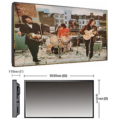 """Плазма c узкой рамкой 46"""" Samsung 460UX-3 в аренду"""