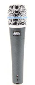 Предлагаем в аренду инструментальные микрофоны Shure BETA 57A