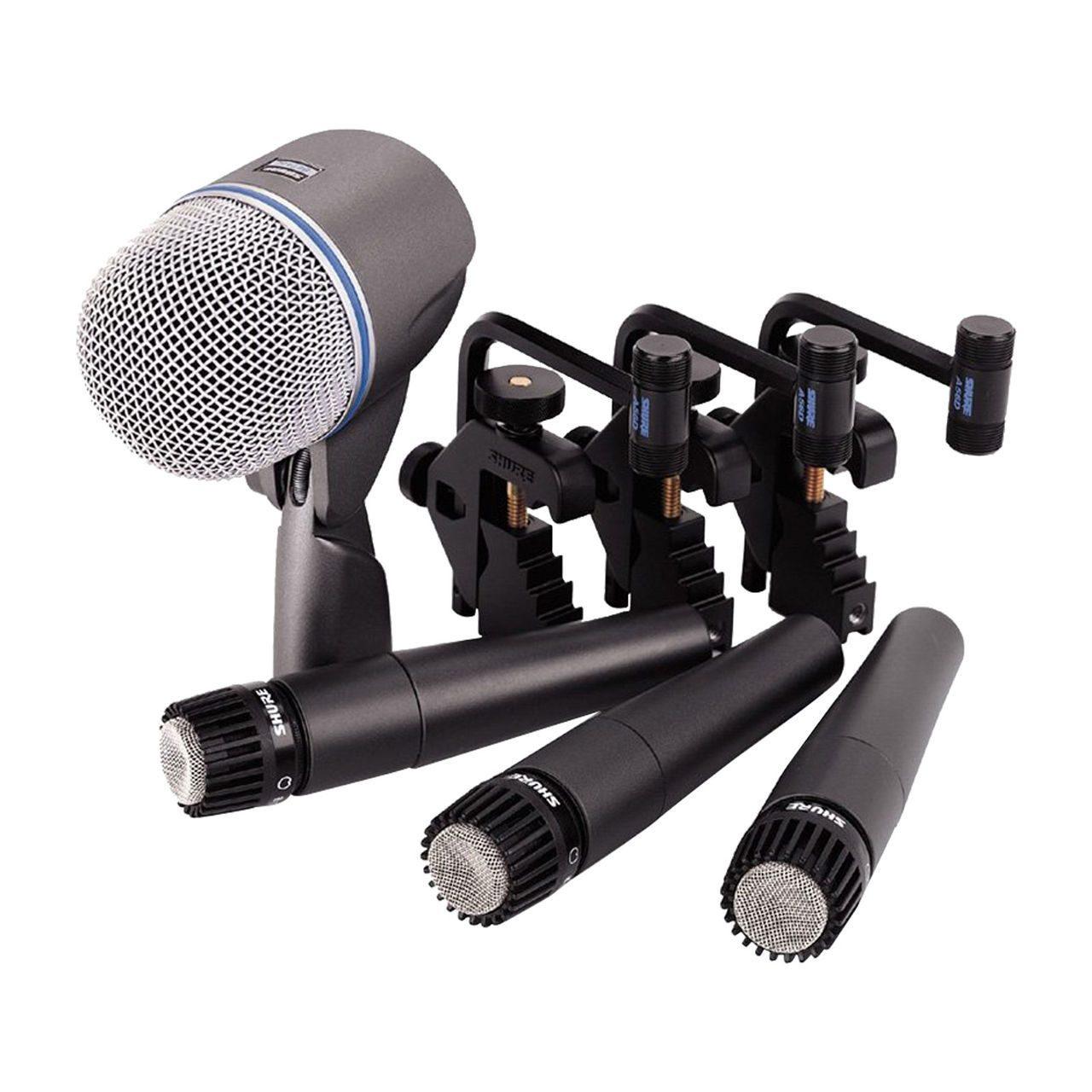 Предлагаем в аренду инструментальные микрофоны Shure DrumSet DMK57-52