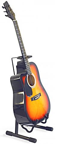 ZZ-Stands AG-15 Универсальная напольная гитарная стойка (акустика, электро) с держателем грифа в аренду