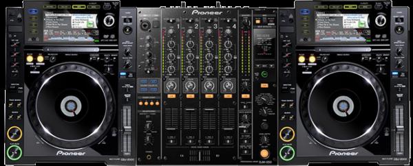 Предлагаем в аренду DJ комплект PIONEER Djm-850 + 2шт Cdj-2000