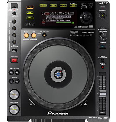 Pioneer CDJ-850 в аренду