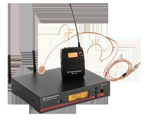 Аренда радио-микрофона с гарнитурой Sennheiser G3 EW100 / DPA 4088
