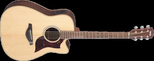 Предлагаем в аренду электро-акустическую гитару Yamaha в Москве