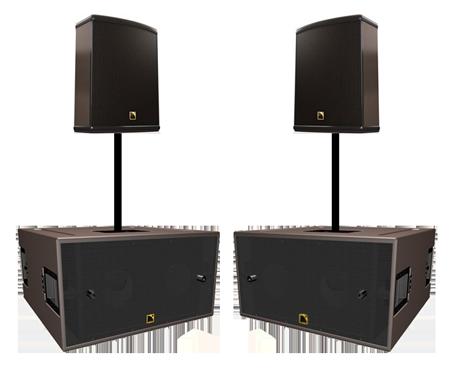 Аренда комплекта звука L-acoustics 3,6 квт