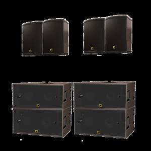 Аренда комплекта звука L-acoustics 7,2 квт