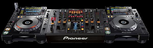 Предлагаем в аренду диджейский комплект Nexus Pioneer DJM-2000nxs и 2 CDJ-2000nxs