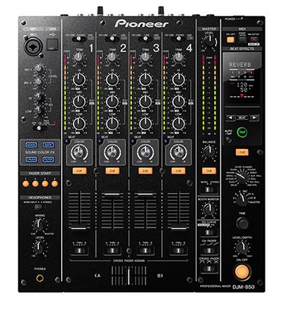 Pioneer DJM-850 в аренду