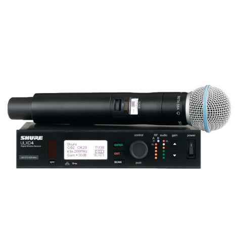 Аренда радио-микрофона Beta 58 Shure Ulxd24