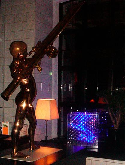 Световой эффект 3D CUBE в аренду