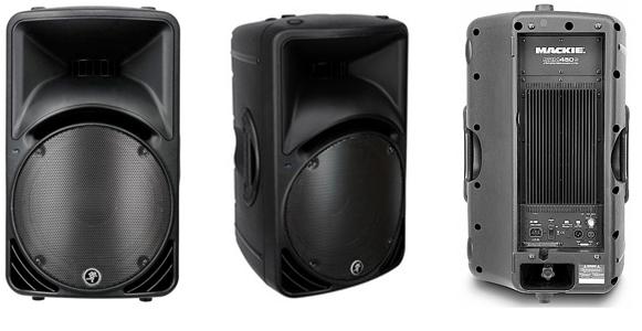 MACKIE SRM450 - активная 2-полосная акустическая система. В аренду