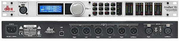 DBX DriveRack PA+ - Цифровой акустический процессор-контроллер для управления громкоговорителями в аренду