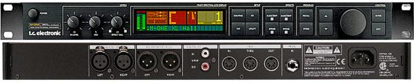 Аренда, прокат обработки звука. TC Electronic M-ONE -реверберация, эхо, хорус, флэнжер, тремоло, файзер, компрессор, де-эссер, экспандер, гейт, лимитер и эквалайзер.