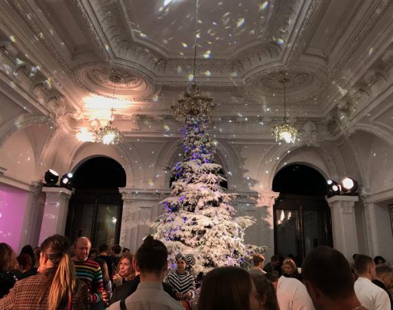 Новогодняя ёлка Tatler в особняке Спиридонова