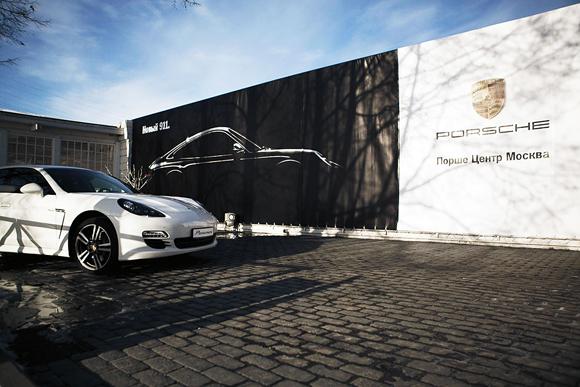 Презентация нового Porsche 911 в Royal bar