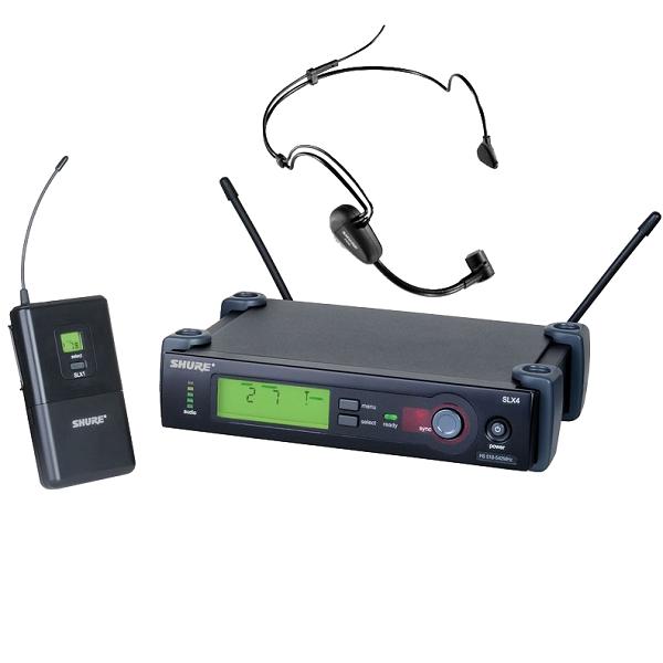 Аренда радио-микрофона с гарнитурой Shure Slx14 PG