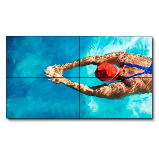 Аренда видео-стены из 4х плазм Samsung 460UX-3